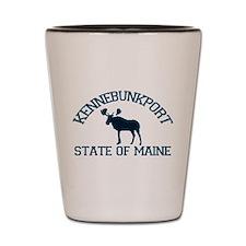 Kennebunkport ME - Moose Design. Shot Glass
