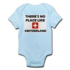 There Is No Place Like Switzerland Infant Creeper