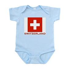 Switzerland Flag Merchandise Infant Creeper