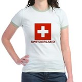 Switzerland Flag Merchandise T