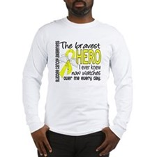 Bravest Hero I Knew Bladder Cancer Long Sleeve T-S