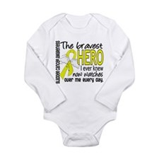 Bravest Hero I Knew Bladder Cancer Long Sleeve Inf