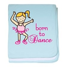 Born To Dance baby blanket