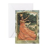 Oya blank greeting cards (Pk of 10)
