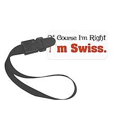 Im Swiss Luggage Tag