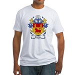 Borron Coat of Arms Fitted T-Shirt