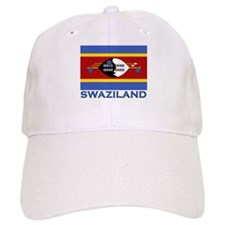 Flag of Swaziland Baseball Cap