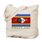 Flag of Swaziland Tote Bag