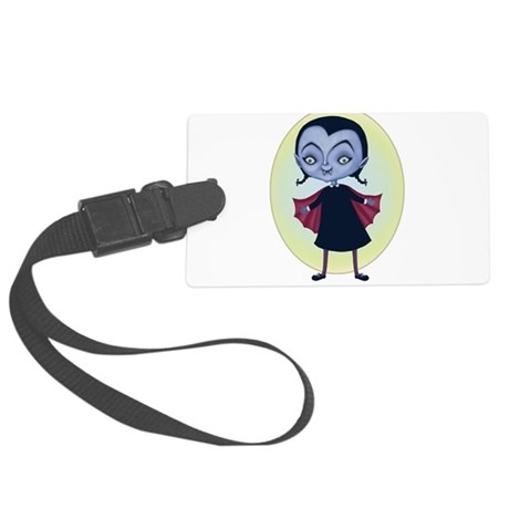 little vampira Large Luggage Tag
