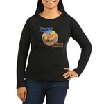 Women's Long Sleeve Dark T-Shir