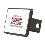 If I Had A British Accent Rectangular Hitch Cover