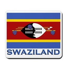 Swaziland Flag Stuff Mousepad