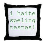 Testes Throw Pillow