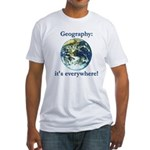 Geography Fitted T-Shirt