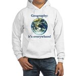 Geography Hooded Sweatshirt