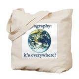 Geography Tote Bag
