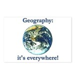 Geography Postcards (Package of 8)