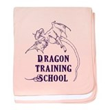 Dragon Training School baby blanket