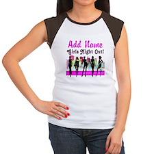 GIRLS NIGHT OUT Women's Cap Sleeve T-Shirt