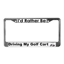 Golf Cart License Plate Frame