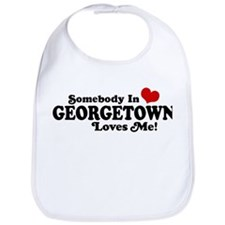 Somebody in Georgetown Loves Me Bib