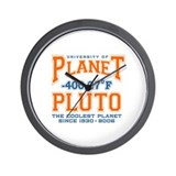 Pluto tshirts and gifts Wall Clock