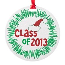 Class of 2013 Christmas Ornament