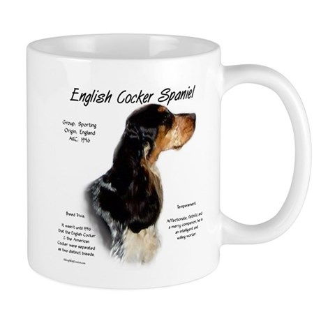 Parti Roan English Cocker Mug