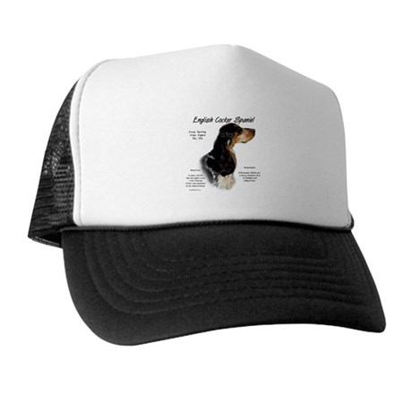 Parti Roan English Cocker Trucker Hat