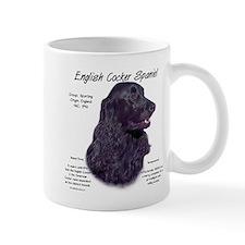 Black English Cocker Spaniel Small Mug
