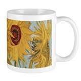 Van Gogh Sunflowers Wraparound Small Mug