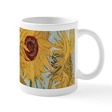 Van Gogh Sunflowers Wraparound Small Mug