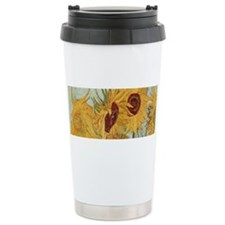 Van Gogh Sunflowers Wraparound Travel Mug