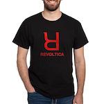 REVOLTICA - Helvetica Hater Black T-Shirt