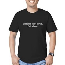 Zombies can't swim get a boat T