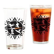 Adventure Compass Drinking Glass
