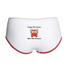 Ride The Fireman Women's Boy Brief