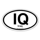 IQ - Iraq Decal