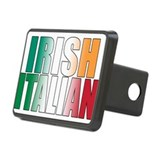 Irish Italian Rectangular Hitch Cover