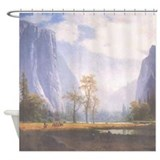 Yosemite Valley Mist Shower Curtain