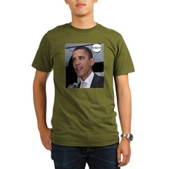 Barack9.jpg Organic Men's T-Shirt (dark)