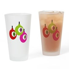 mod ornaments Drinking Glass