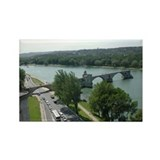 Le Pont d'Avignon Rectangle Magnet