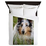 'Pebbles Laying in Grass Queen Duvet