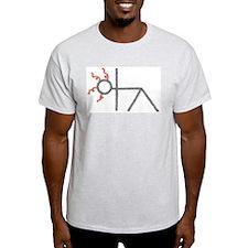 triangle yoga pose - ArtinJoy T-Shirt