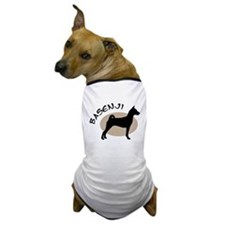 basenji dog black & tan Dog T-Shirt