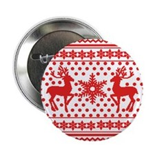 "Ugly Sweater 2.25"" Button"
