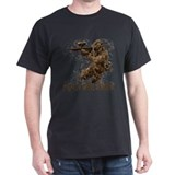 Paintball My Own Stunts Black T-Shirt