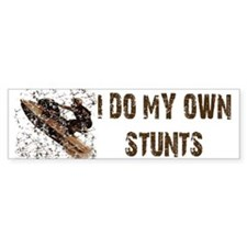 Jetski - Stunts Bumper Bumper Sticker