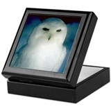 Snowy Owl Keepsake Box